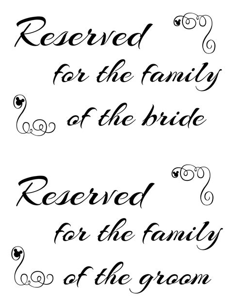 9 best images of family signs printable printable family