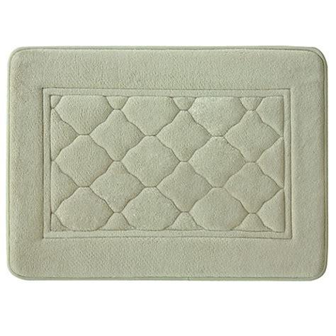 bacova bath rugs bacova microban florence 17 inch x 24 inch antimicrobial memory foam bath rug bed bath beyond
