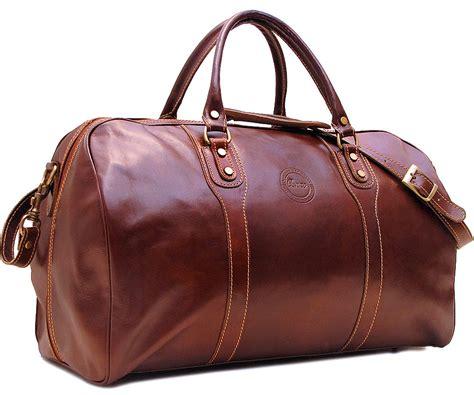 cenzo leather duffle bag