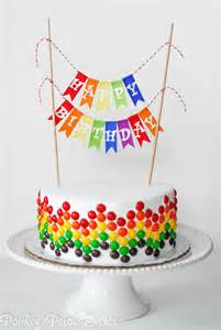 10 diy birthday cake ideas paper crush