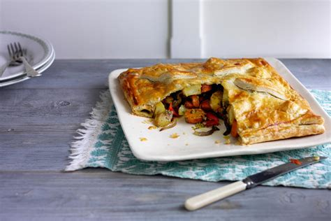 roasted vegetable pie recipe spar