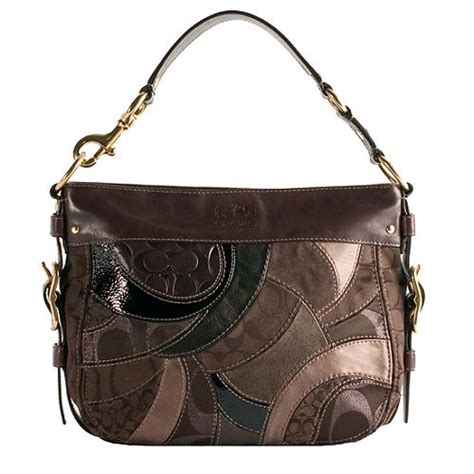 Coach Patchwork Bag - coach mosaic patchwork zoe hobo handbag