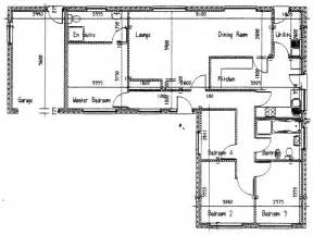 Floor Plan For Bungalow House by 3d Bungalow House Plans 4 Bedroom 4 Bedroom Bungalow Floor