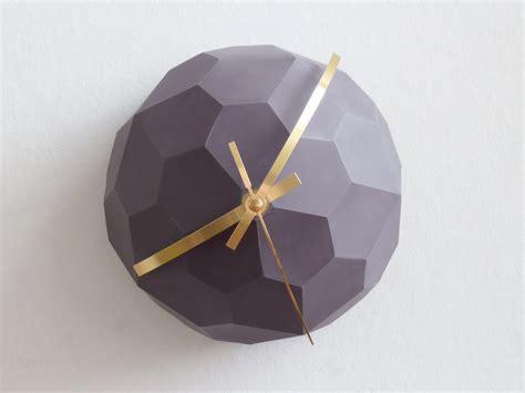 How To Make An Origami Clock - origami clock13 fubiz media