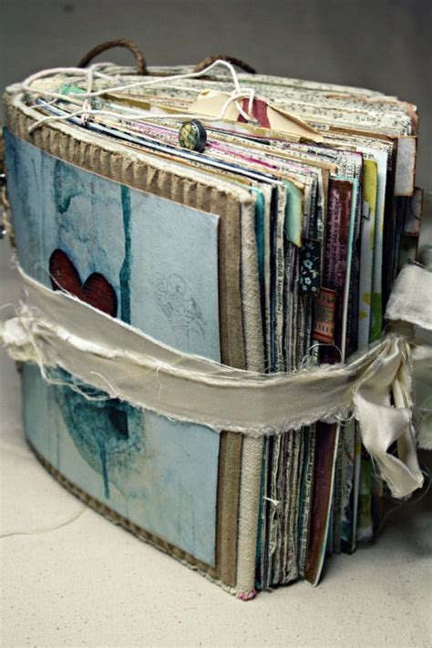 Handmade Journal Ideas - best 20 handmade journals ideas on smash book