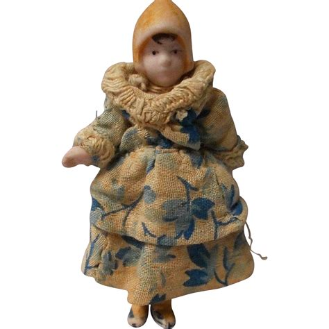 how to make a bisque doll antique tiny all bisque doll house doll germany from