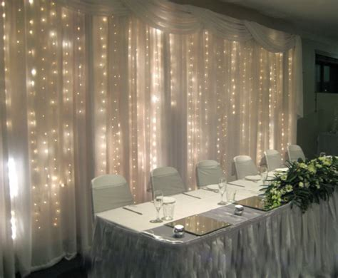 white backdrop with lights curtain lights for wedding backdrop curtain menzilperde