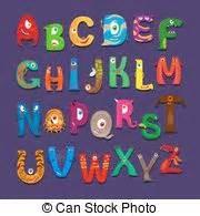 lettere alfabeto divertenti alfabeto bambini lettere educazione cartone animato