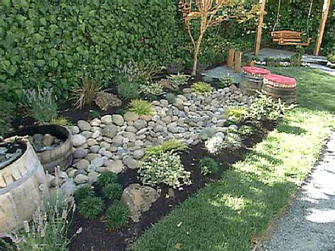 dry creek bed landscaping austin lawn drainage dry creek beds landscape design