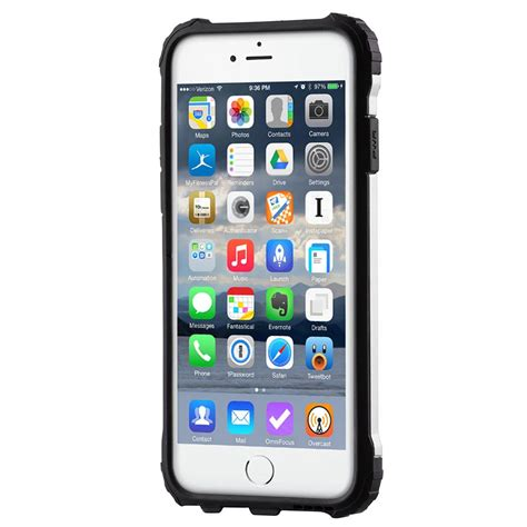 Rugged Armor Hybrid Iphone 6 hybrid armor tough rugged cover for iphone 6s 6