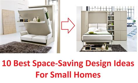10 best space saving design ideas for small homes youtube