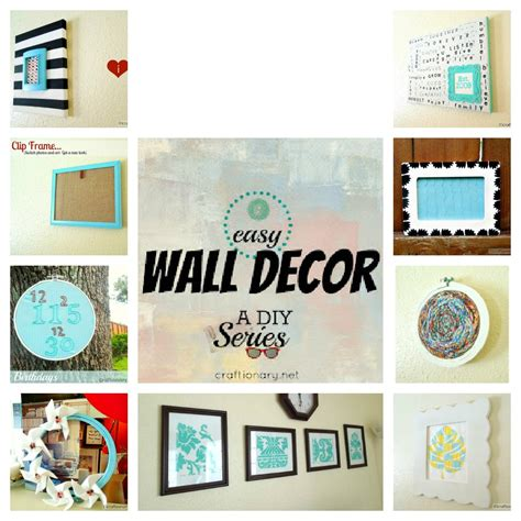 diy home decor wall craftionary