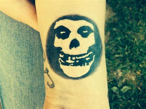 misfits tattoo misfits skull danzig