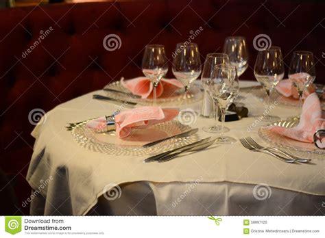 fancy dinner table set stock image image 10392131 elegant dinner table stock photo image of nobody cutlery