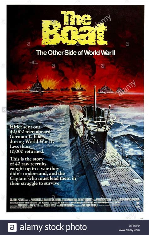 german u boat movie das boot german u boat poster das boot 1981 stock photo 66505581