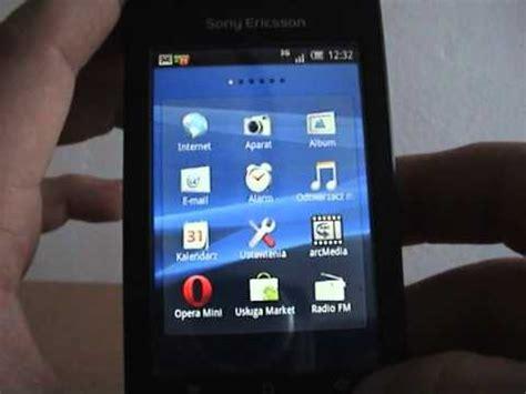 download youtube xperia x8 3 5 sony ericsson xperia x8 zmiana interfejsu