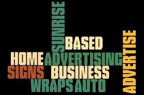 home based business advertising with auto wraps