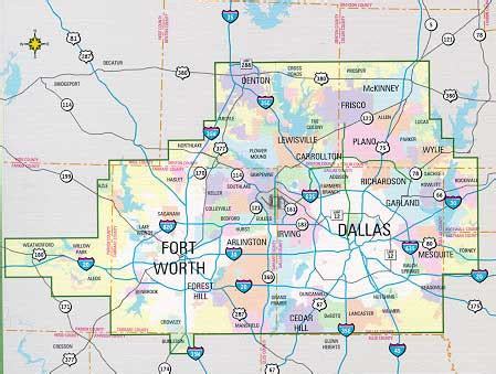 printable map dallas fort worth metroplex dallas and fort worth metro combo book by mapsco