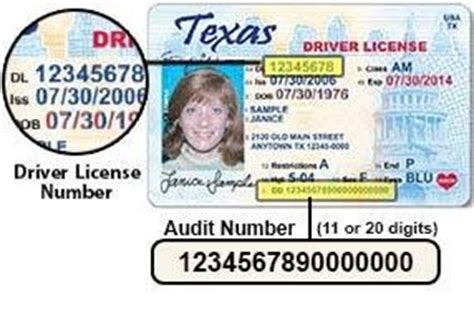Find Drivers License Number What Is An Audit Number On A Driver S License Quora