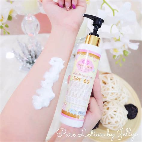 Lotion By Jellys Original Whitening Lotion Jellys Thailand lotion by jellys glutathione lotion whitening spf60 thailand best selling products