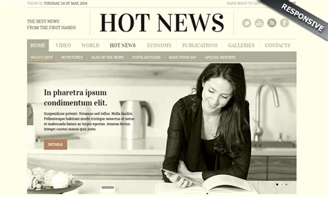 bootstrap templates for news newspaper bootstrap template id 300111817 from