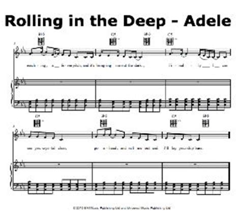 adele rolling in the deep piano music 1000 images about violin on pinterest aj lee sheet