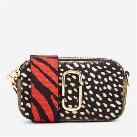 Marc Snapshot Flag No Emboss marc s wavy spot snapshot bag black multi womens accessories thehut