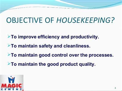 housekeeping tips housekeeping