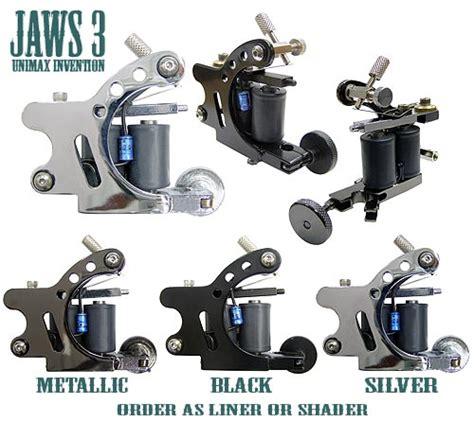 unimax tattoo supplies jaws 3 unimax machines