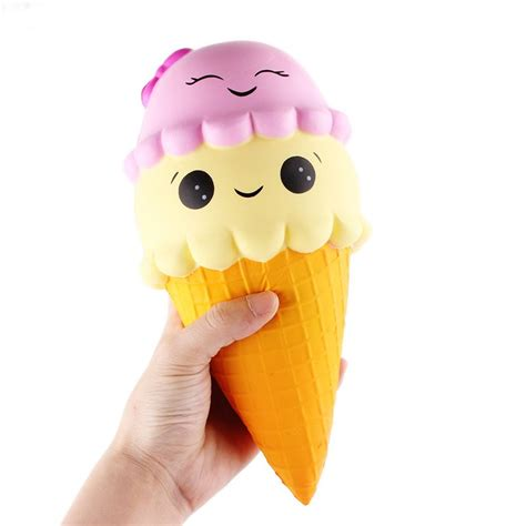 Squishy Original Sanqi Elan Jumbo Hamburger sanqi elan squishy cone jumbo 22cm rising with packaging collection gift soft