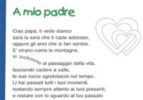 padre davvero testo frasi e poesie per la festa pap 224 scuola primaria e