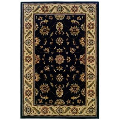 natco home fashions rugs quot area rug stratford kazmir black 5 x 7 7 quot quot quot natco 202223843