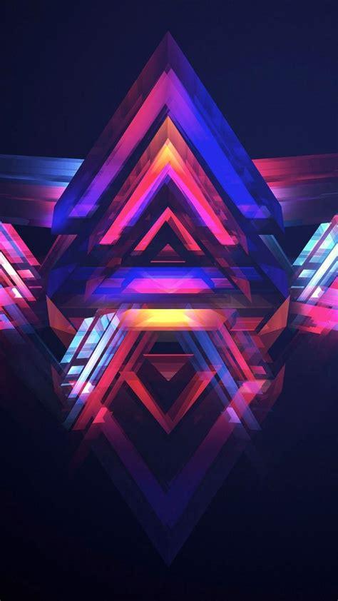 Gambar Samsung Galaksi V wallpaper hd abstract polygon os 13564
