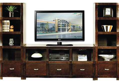 wall units eldon square merlot 3 pc wall unit wall units dark wood
