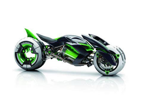 motor j kawasaki j electric three wheeler concept revealed in