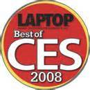 Cews 2008 Awards by Laptop Magazine Announces 2008 Best Of Ces Award Winners