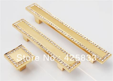 Gold Knobs For Dresser by 64mm 24k Gold Drawer Pulls Antique Brass Plating Zinc