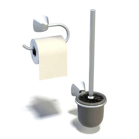 bathroom toilet gadgets 3d cgtrader