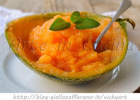 ricette di cucina facile sorbetto al melone e zenzero ricetta facile arte in cucina