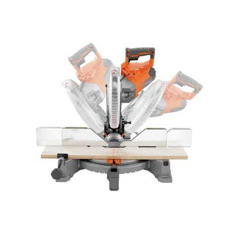 ridgid work bench ridgid zrr4112 15 amp 10 in dual bevel compound miter saw