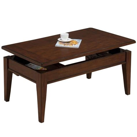 Jofran Lift Top Coffee Table Jofran Lift Top Coffee Table In Dunbar Oak Finish 411 1