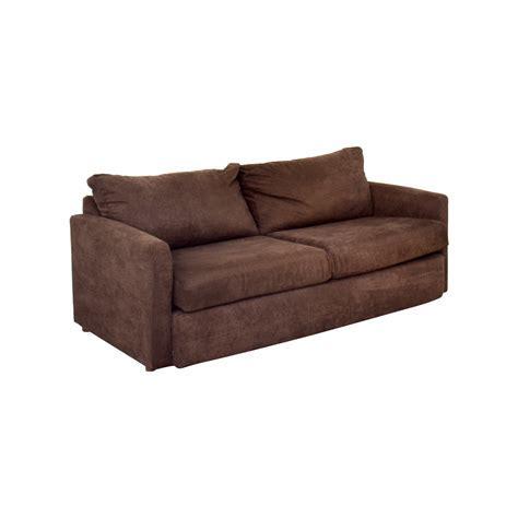 67% OFF   Bob's Furniture Bob's Furniture Brown Loveseat