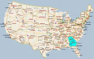 Atlanta Usa Map by Fitzy S Web Site Travel United States Of America