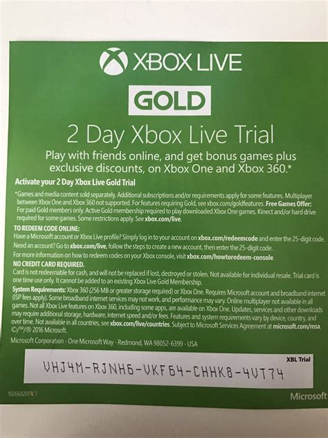xbox 7 day trial free matt craig on quot 2 day xbox live trial if anyone wants it https t co mnyslisydi quot