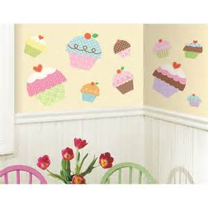 Ebay Wall Stickers Nursery New Large Cupcakes Wall Stickers Girls Bedroom Baby