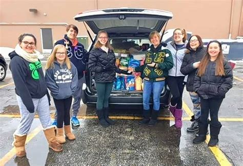 elk grove leo club collects pet food and toys for almost
