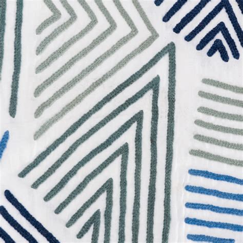 jed johnson fabric blue white ah l