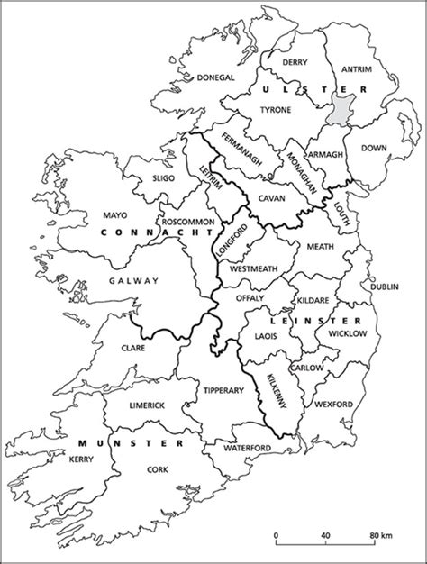 printable map ireland counties towns ireland counties map to print pictures to pin on pinterest