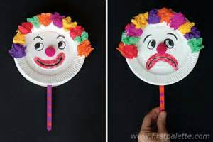 Chinese New Year Craft For Kids - mr happy and mr sad clown craft kids crafts firstpalette com