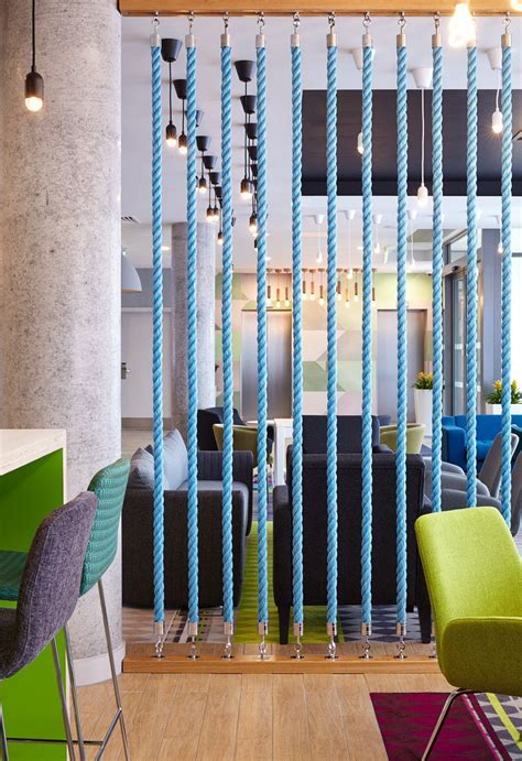 Rope Room Divider Inn Express Aberdeen Fishing Boat Rope Screen Divider Polished Concrete Column